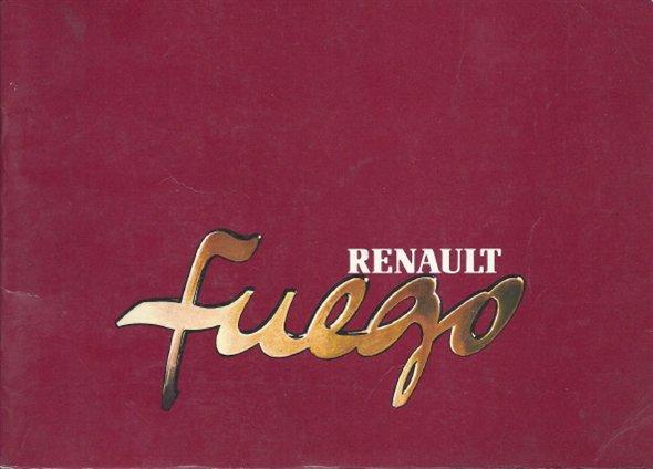 Part Manual Renault Fuego