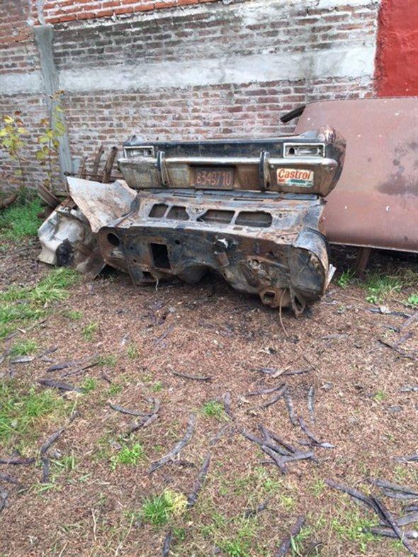 Part Chevy Bumper