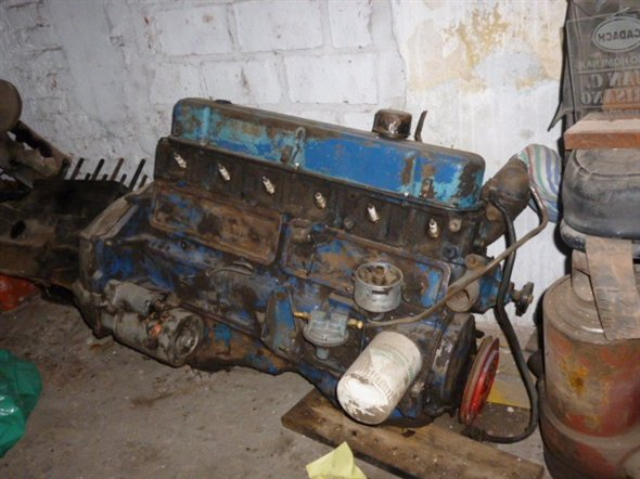 Part Chevrolet 230 Motor