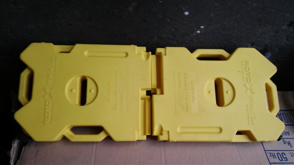 Part Tank Plastic Rotopax Ultra Slim