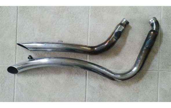 Part Pipes Exhaust Harley Davidson Softail