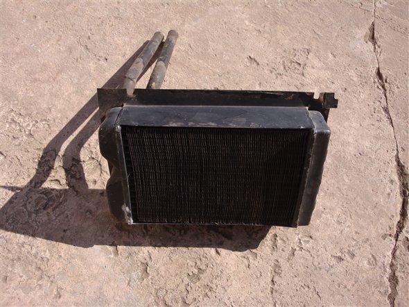 Repuesto Radiador Calefacción Dodge GTX