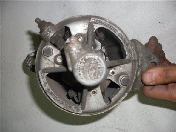 Part Body Dynamo Fiat 1500