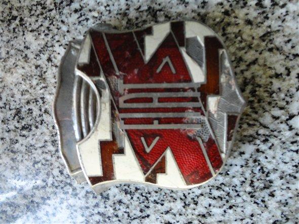 Part Grill Logo Fiat