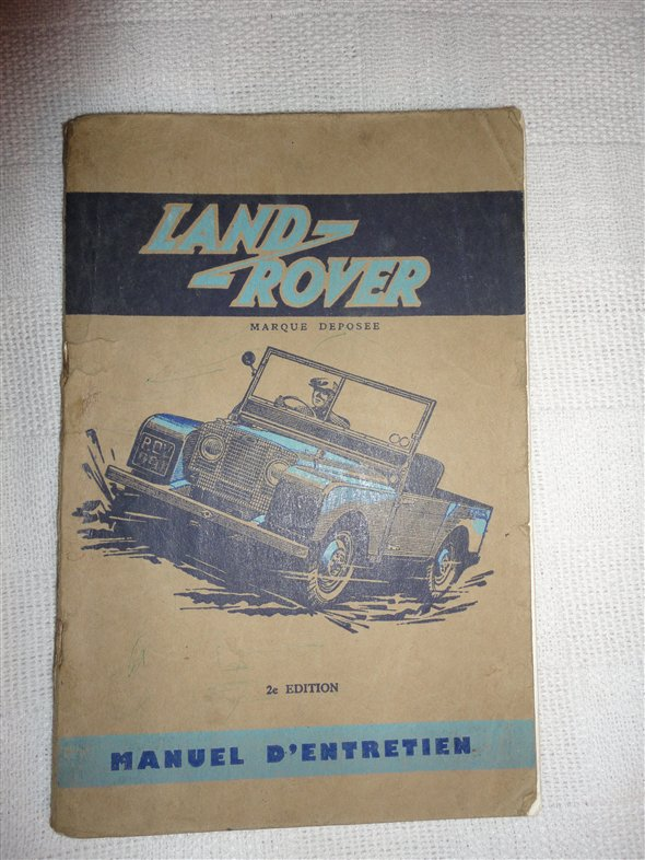 Part Manual User Land Rover