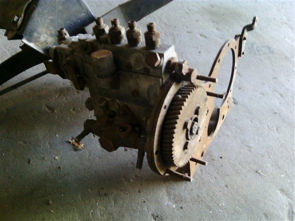 Repuesto Bomba Inyectora Rastrojero Borgward