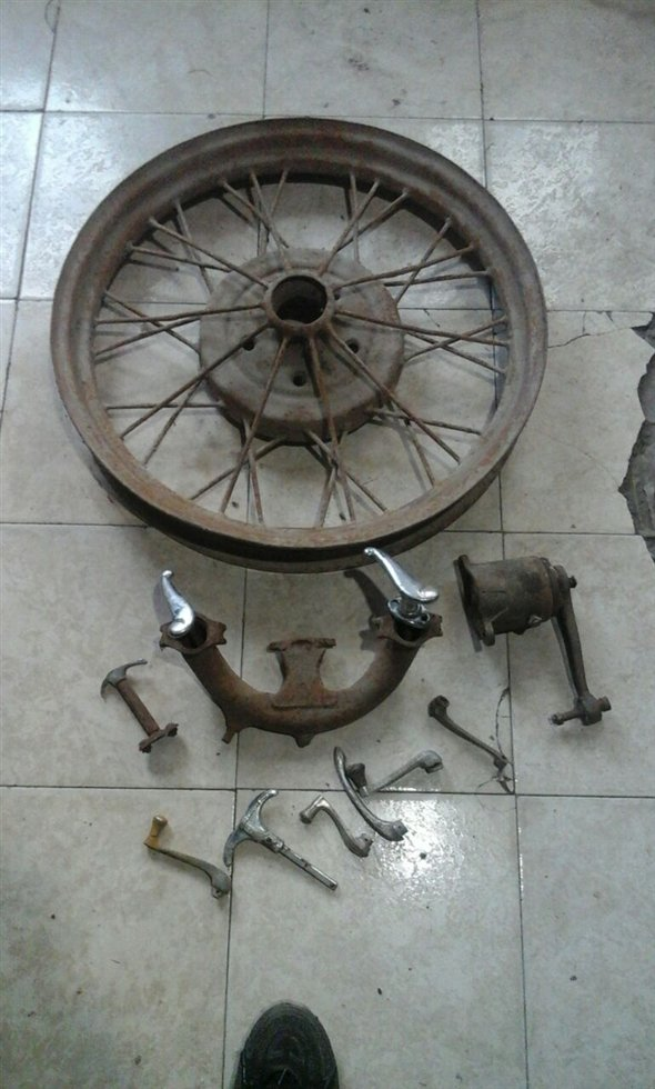 Part Replacement Ford 1928-29