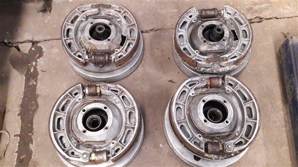 Repuesto Frenos Volpi Aluminio Ford