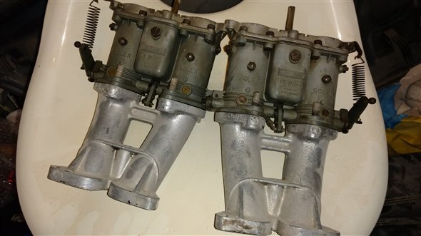 Part Set Carburetors Porsche 356