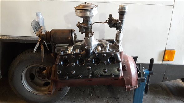 Part Engine Ford V8 Flathead 85 Hp