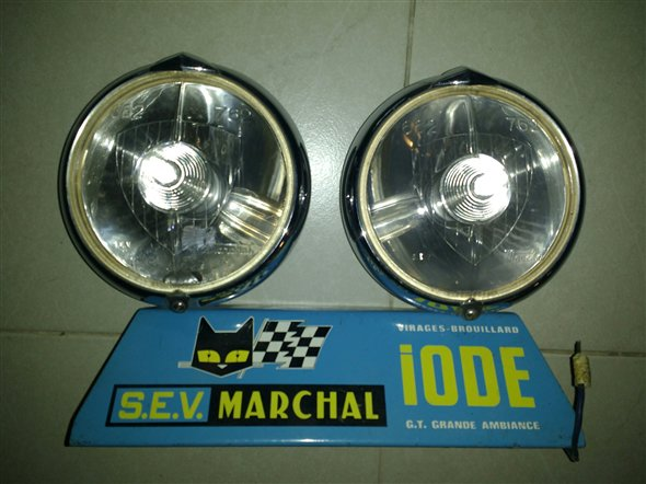 Part Headlights Marchal