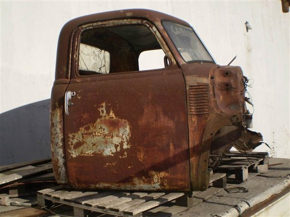 Part Cab Chevrolet Toad 1947