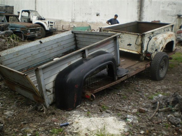 Part Box Narrow Ford 1956