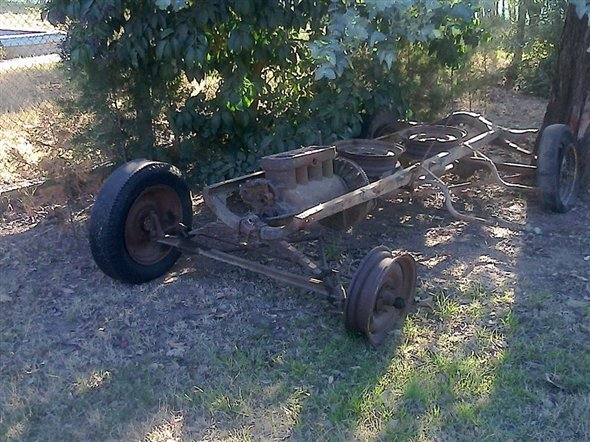 Part Chassis Ford T