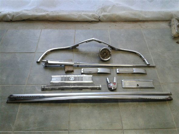 Part Accessories Chevrolet 1946