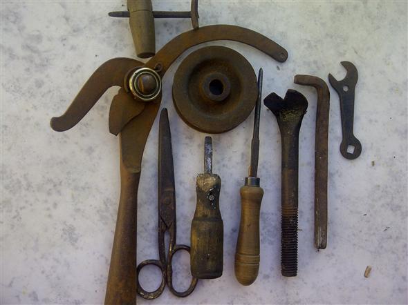 Lote herramientas antiguas 10 31040 - Herramientas de campo antiguas ...
