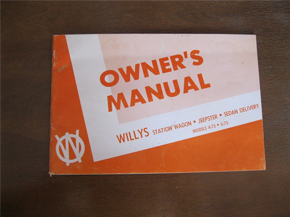 Part Manual Usuario Willys