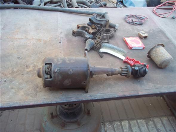 Part Motor Arranque Ford A