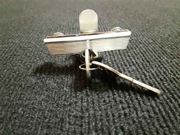 Part Lock glove box Fiat 1500 with keys
