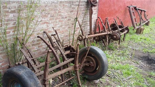 Part Front axles