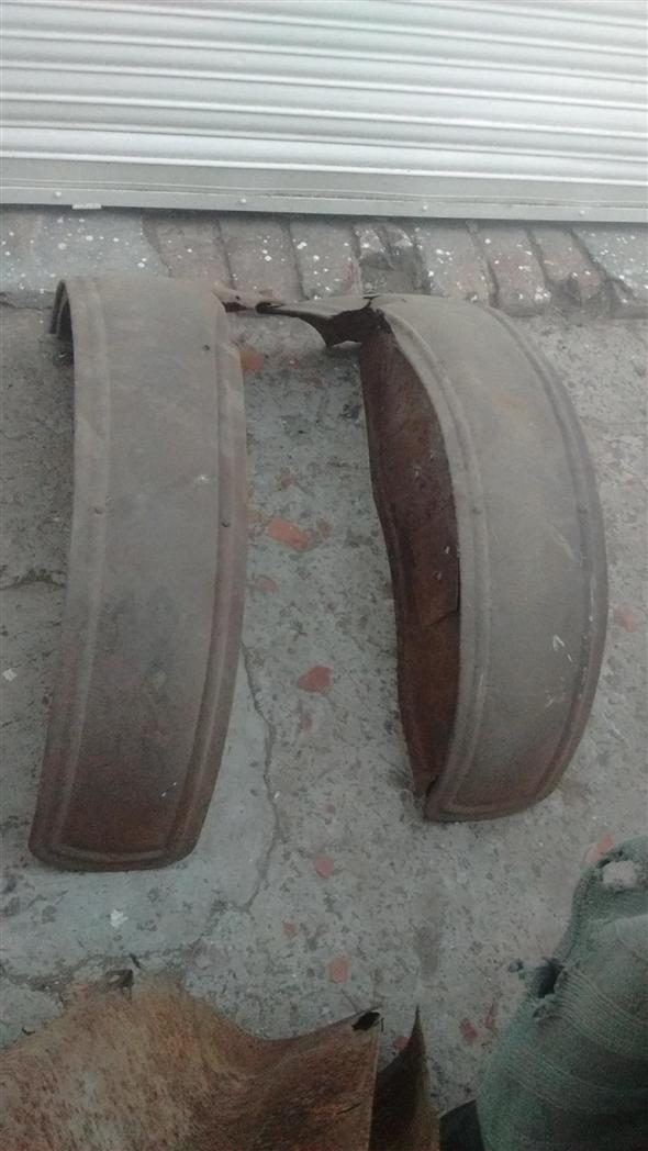 Part Fender Trasceros Ford T