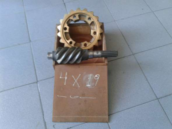 Part Crown and pinion