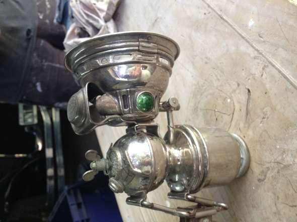 Part Lantern carbide bike