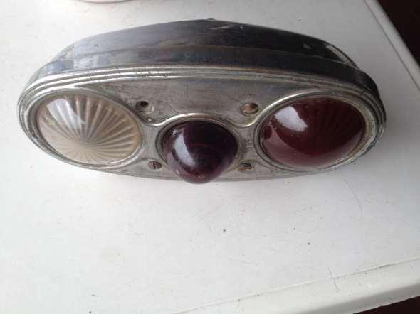 Part Rear Packard, sutz, lantern