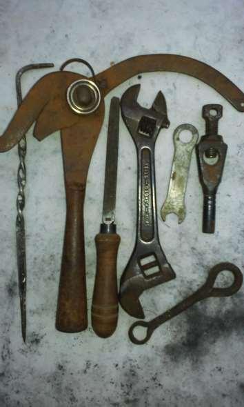 Part Lot old tools