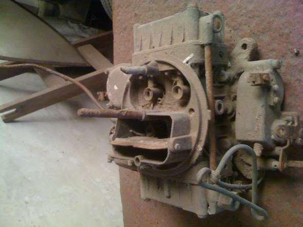 Part Carburetor Holley 4 mouths