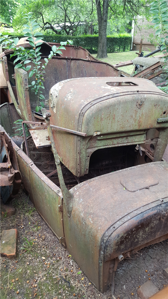 Repuesto Carroceria Ford T 1927 Doble Phaeton
