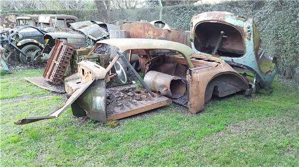 Part Body Coupe Dkw