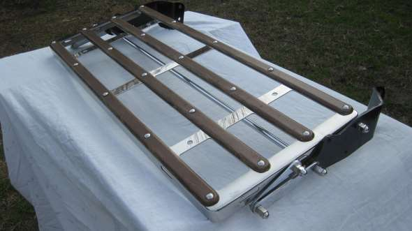 Part Porta Equipaje Ford A (inoxidable)