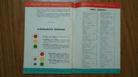 Part Manual Renault Dauphine