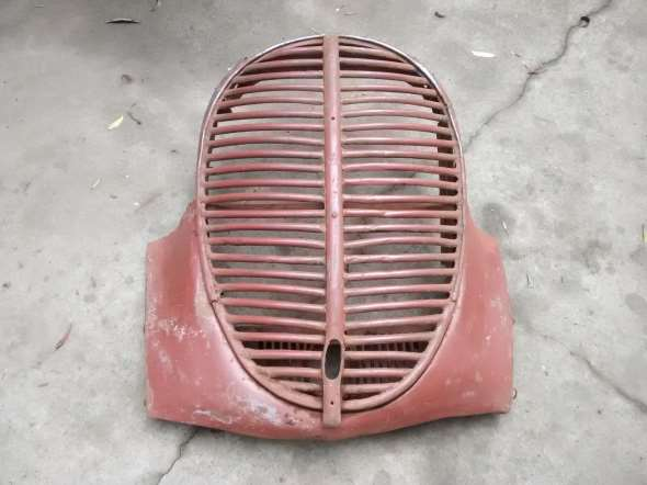 Part Complete 1938 Ford truck front Grill