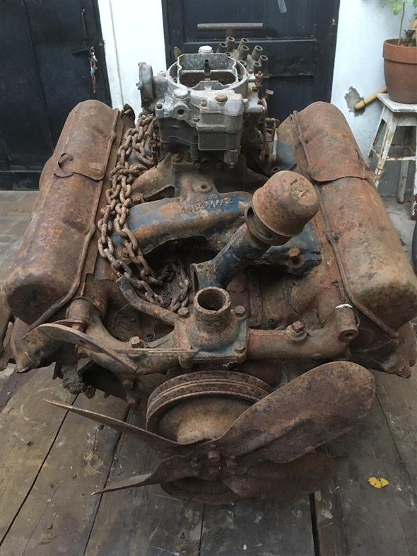 Repuesto Motor Cadillac V8