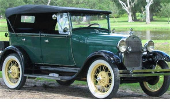 Part Capota Ford A