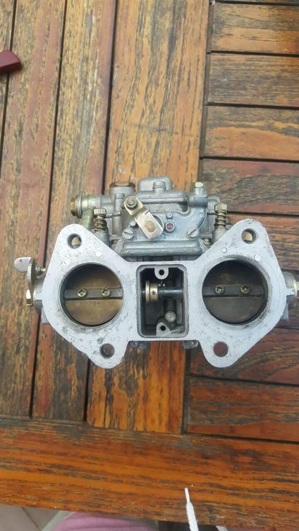 Repuesto Par Carburadores Weber 40