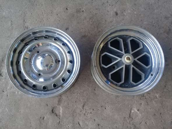 Part Peugeot original rims