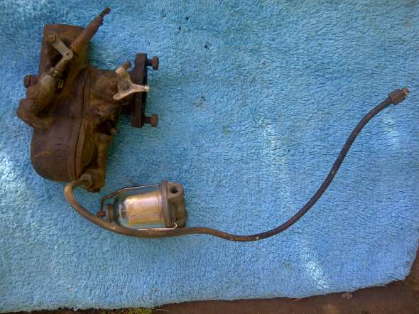 Part Carburador Ford A Completo