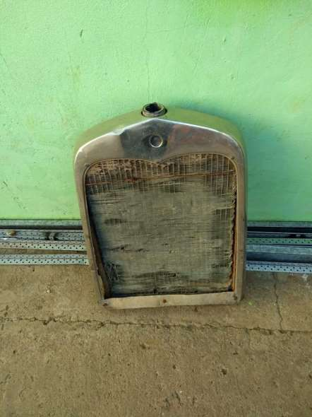Part For sale radiator and mask Ford 1928