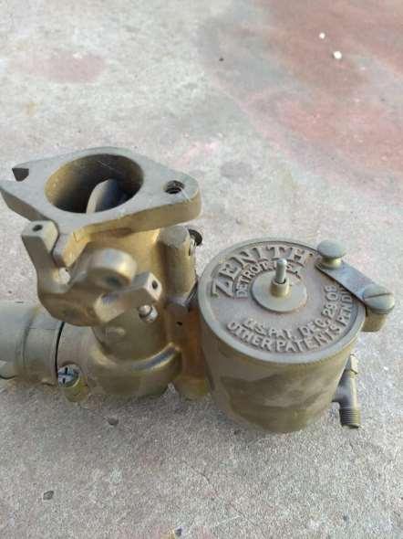 Repuesto Vendo Broce Carburador Zenit