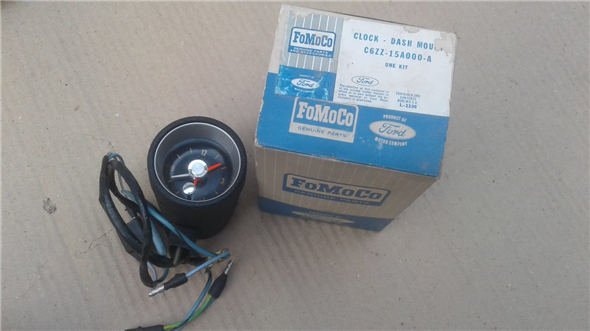Part Watch Ford Mustang 65-66 Original new Fomoco