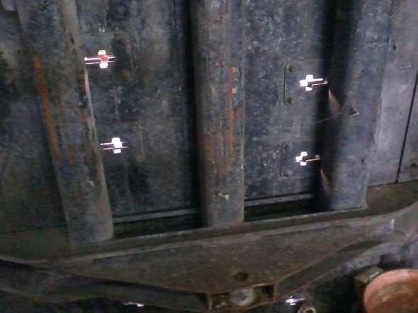 Part Cargo box Unimog