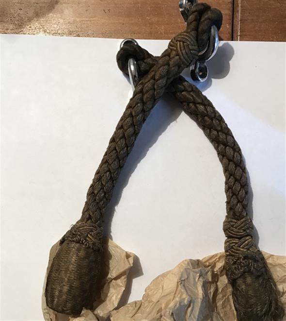 Part Agarraderas-haltetau-mooring Rope-mercedes Benz 170 Sd
