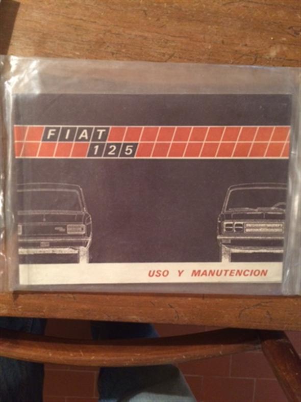 Repuesto Manual Fiat 125