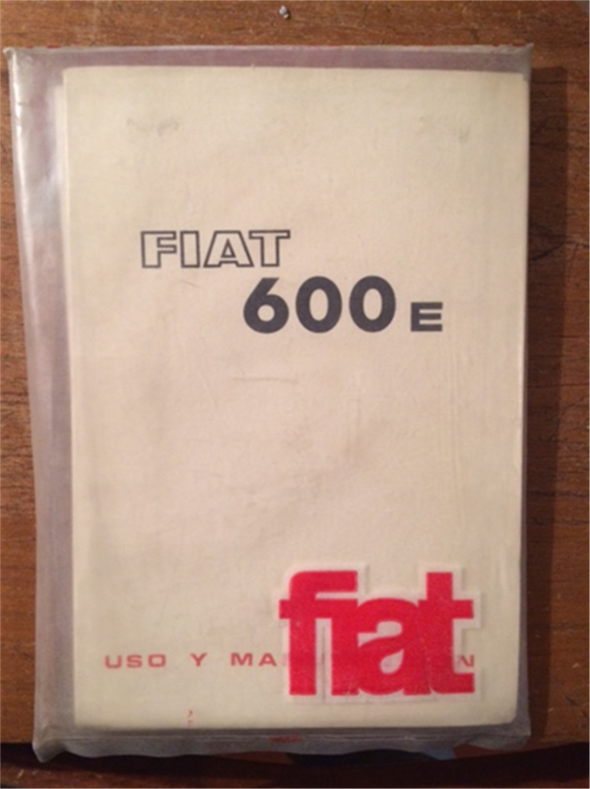 Repuesto Manual Fiat 600e