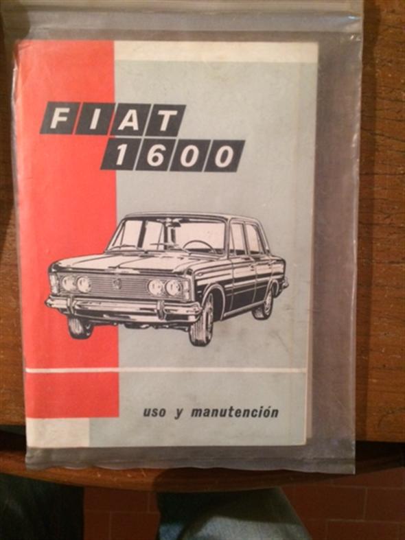 Repuesto Manual Fiat 1600