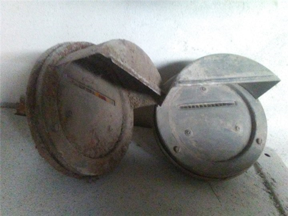 Part Military headlamps