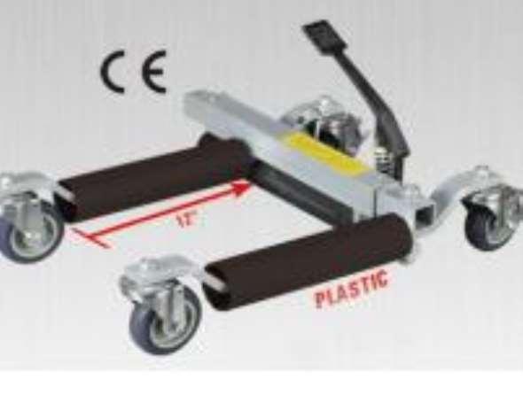 Part Platforms P / move vehicles in confined spaces Crique